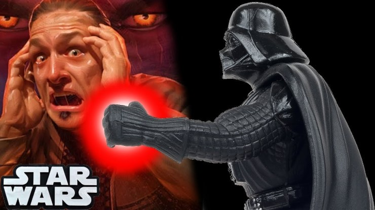 The Forbidden Force Power That Darth Vader USED!! - Star Wars Explained