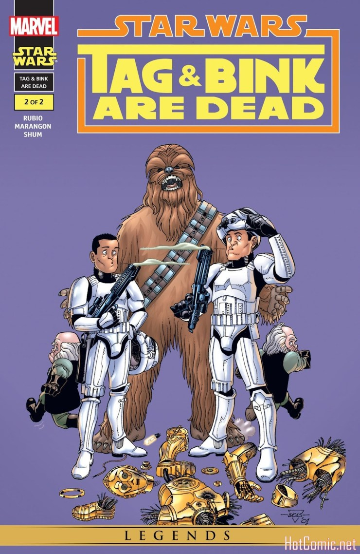 Star Wars: Tag & Bink Are Dead