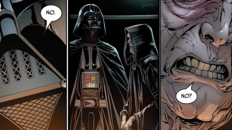 How Palpatine Reacted to Vader Refusing a Direct Order [Canon] - Star Wars