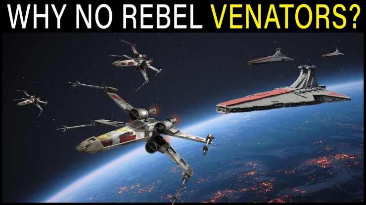 Why didn't the Rebels use old Venator Star Destroyers? | Star Wars Lore 1