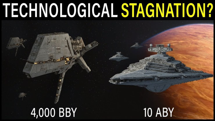 Why does Star Wars technology advance SO SLOWLY? | Star Wars Lore 1