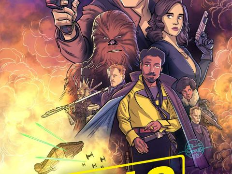 Star Wars – Solo Graphic Novel Adaptation