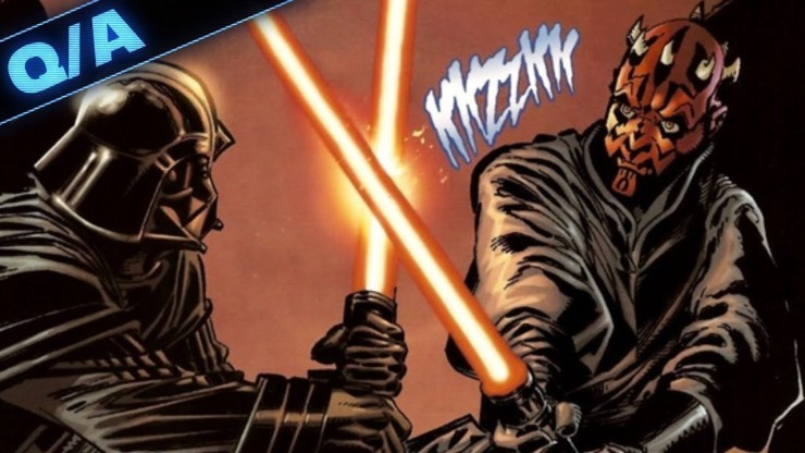Has Darth Maul Ever Fought Darth Vader in Canon - Star Wars Explained Weekly Q&A 1