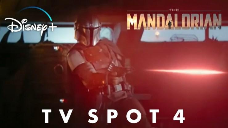 Star Wars The Mandalorian TV Spot Trailer 4 (No New Footage)