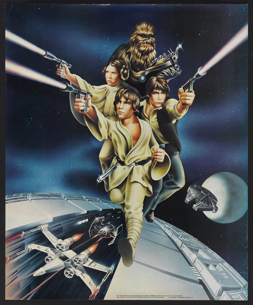 20 Beautiful Star Wars Episode Iv A New Hope Vintage Posters