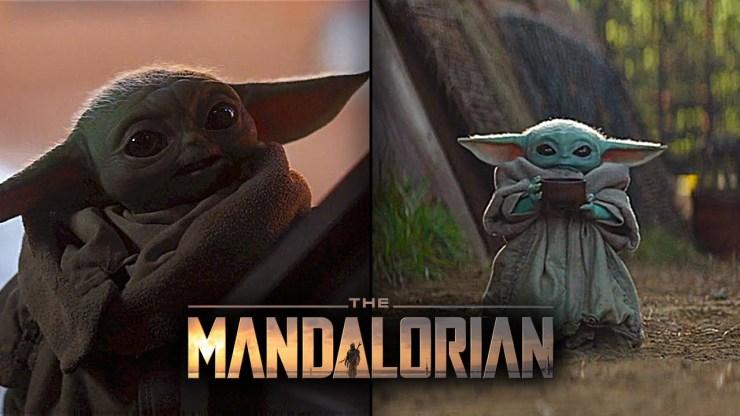 Baby Yoda ALL SCENES - Star Wars The Mandalorian 1