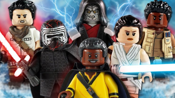 Custom Lego Star Wars The Rise Of Skywalker Minifigures