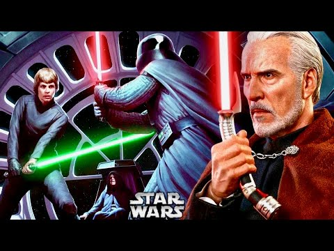 How Anakin and Dooku's Final Duel Influenced Vader in Ep.VI 1