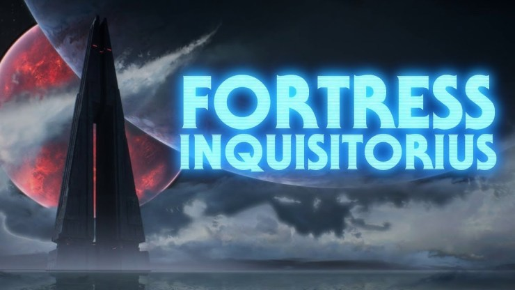 The Fortress Inquisitorius -  Imperial Inquisitor's HQ 1
