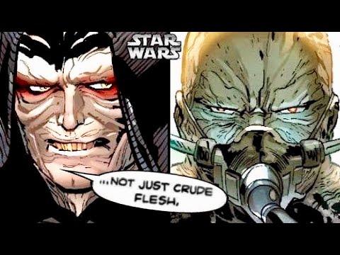 How Palpatine Tried to Inspire Vader with Jedi Wisdom