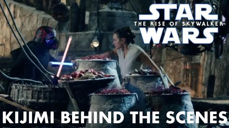 Star Wars The Rise Of Skywalker Rey Vs Kylo Ren On Kijimi