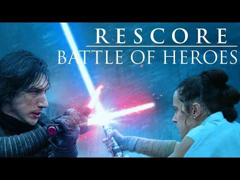 Kylo Ren Vs Rey Rescore With Revenge Of The Sith Soundtrack