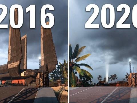 Scarif in Battlefront (2016) vs Battlefront II (2020) Comparison 5