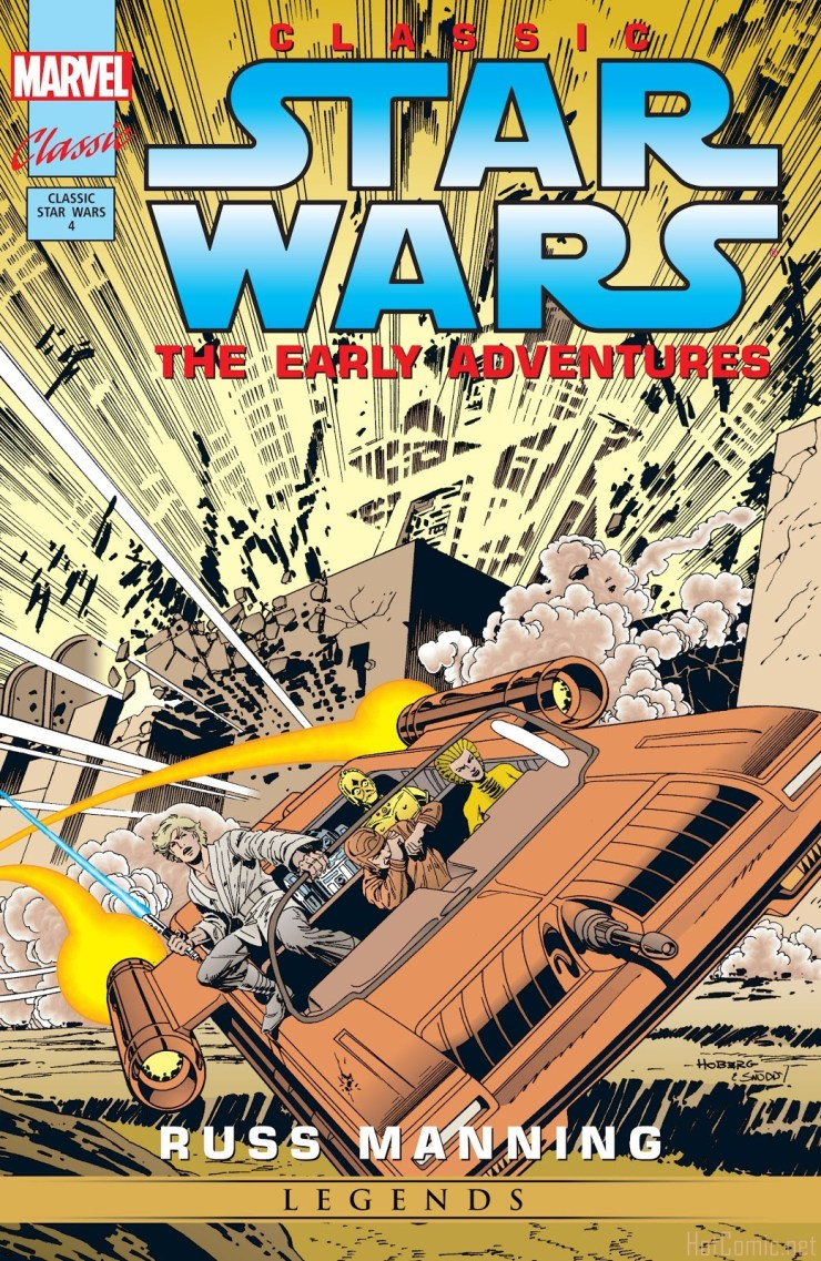 Star Wars Legends: The Newspaper Strips - Epic Collection comic