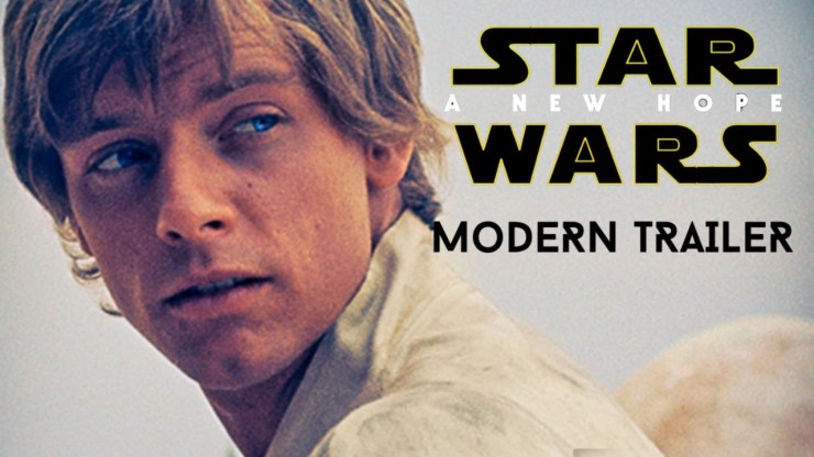 Star Wars: A New Hope - MODERN TRAILER (2020)