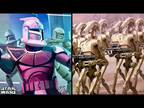A Clone Army of 3 Million Defeat a Droid Army of Quintillions? 1
