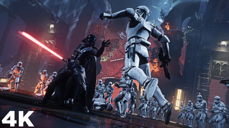 Darth Vader vs Unlimited Clone Troopers - Jedi: Fallen Order 1
