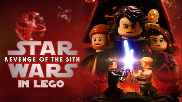 STAR WARS Revenge Of The Sith | LEGO Recap 1