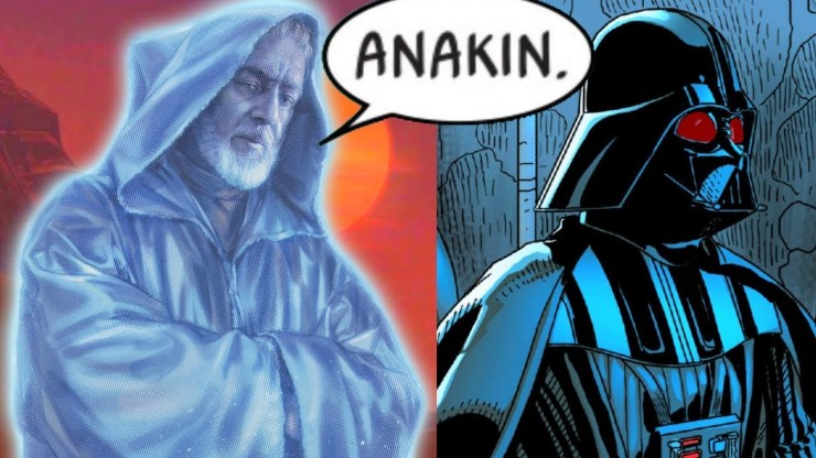 When Darth Vader Talked to Obi-Wan Kenobi's Ghost (Canon) 1