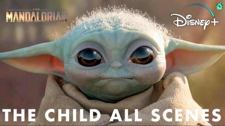 All Baby Yoda Scenes from Star Wars The Mandalorian 1
