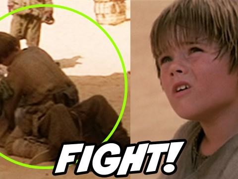 Anakin's Street Fight Deleted Scene Reaction 3