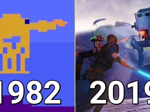 Evolution of Star Wars Games 1982-2019 10