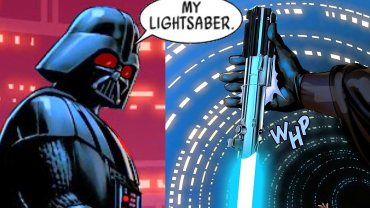 When Darth Vader Lost his Blue Lightsaber AGAIN (Canon) 1