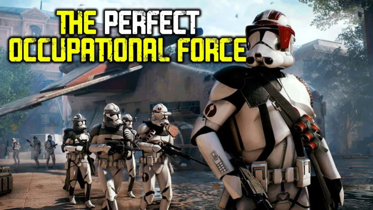 Why the Clone Army Was the Perfect Occupying Force 1