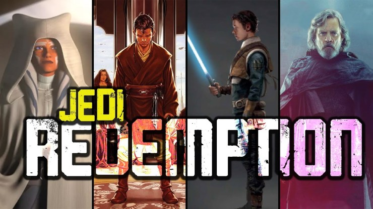4 JEDI Who Redeemed the Sins of the ORDER 1