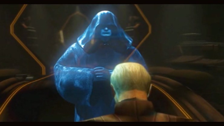 Darth Sidious Contacts Count Dooku about the Clone Army