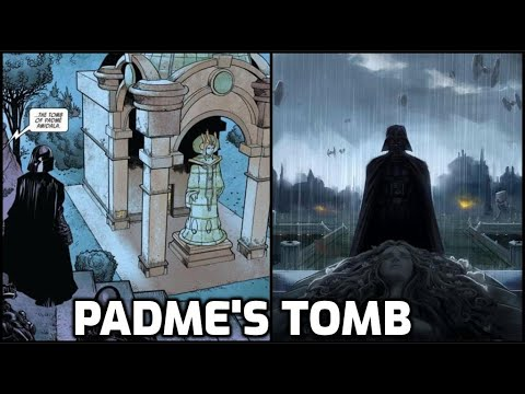 Darth Vader Visits Padme's Tomb For the FIRST TIME [CANON] 6