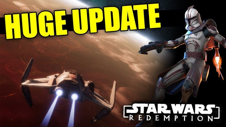 MASSIVE Update to this AMAZING Star Wars Fan-Game! 1