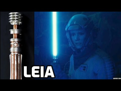 Star Wars NOVEL Reveals Secrets About Leia's Lightsaber 6