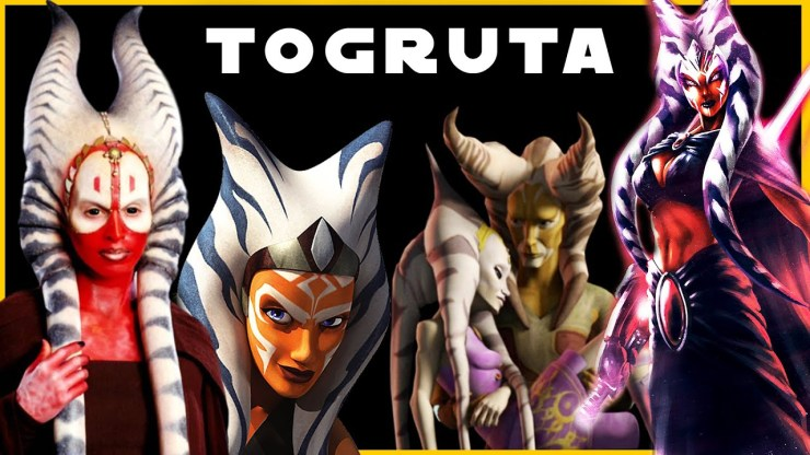 Togruta (Ahsoka & Shaak Ti) Species | Complete Breakdown