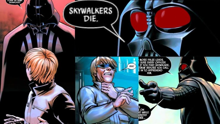 When Darth Vader Met a Fake Luke Skywalker (Canon)