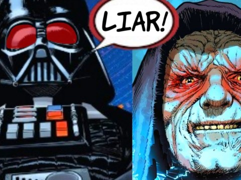 DARTH VADER CATCHES SIDIOUS LYING TO HIS FACE 3