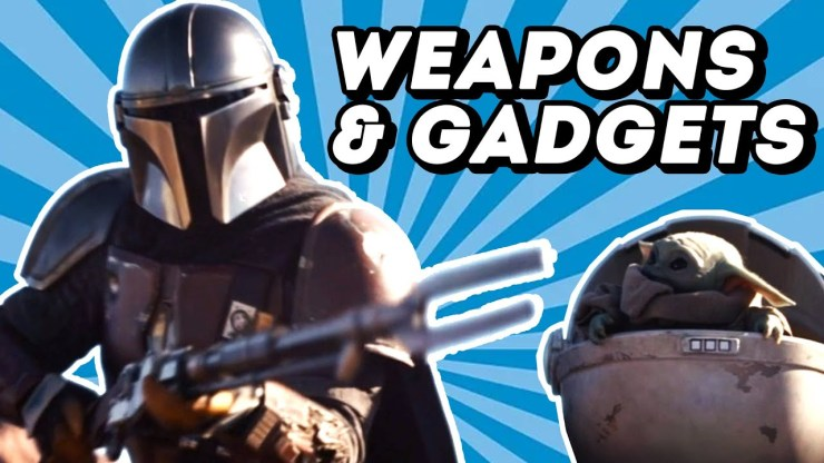The Mandalorian's Full Arsenal Explained: All Weapons! 1