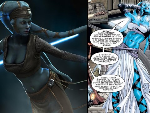 The Noble Reason Aayla Secura Wore Such a Revealing Outfit 6