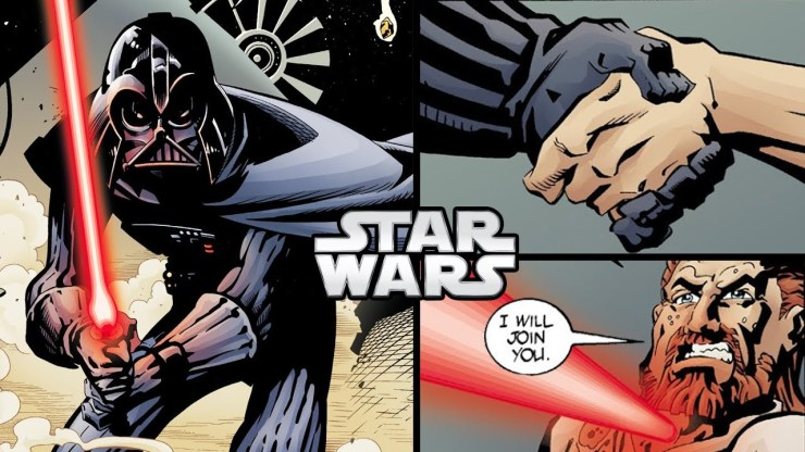 Darth Vader Turns an Order 66 Jedi to the Dark Side