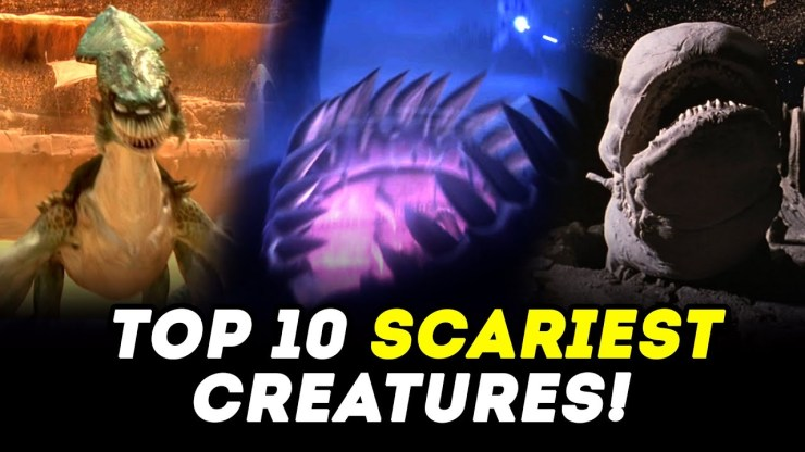 Halloween Special! Top 10 Creatures and Monsters in Star Wars!