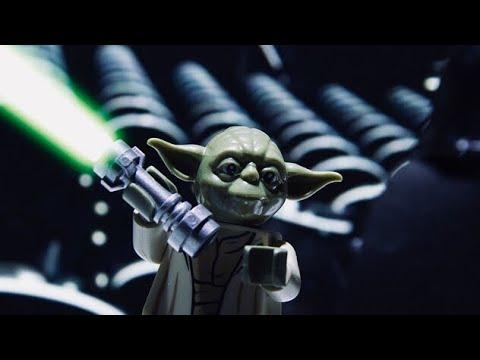 LEGO Yoda VS Darth Sidious 1