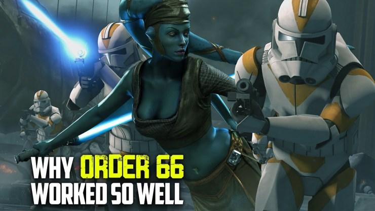 Why 99 Percent of Jedi Were Unprepared for Order 66