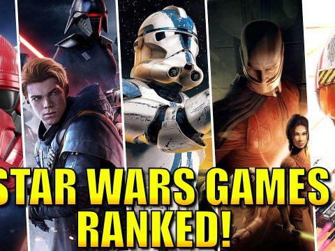 Star Wars Games RANKED from Worst to Best! 3
