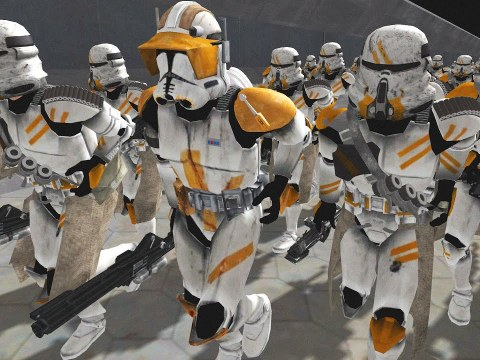 Largest CLONE WARS Ship Boarding EVER! - Star Wars Mod 6
