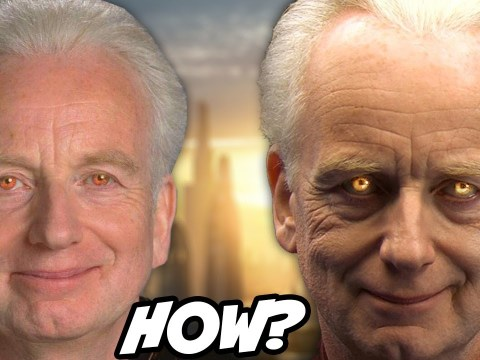 How Palpatine Hid his Sith Eyes From the Jedi