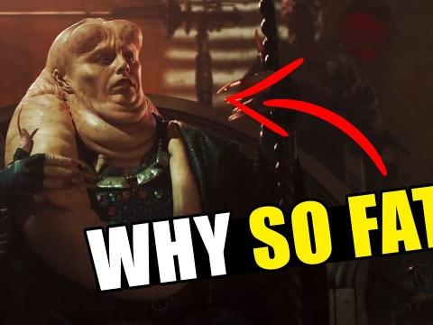 Why did Bib Fortuna get SO FAT?!