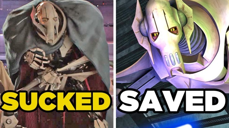 8 Star Wars Characters SAVED By The Expanded Universe