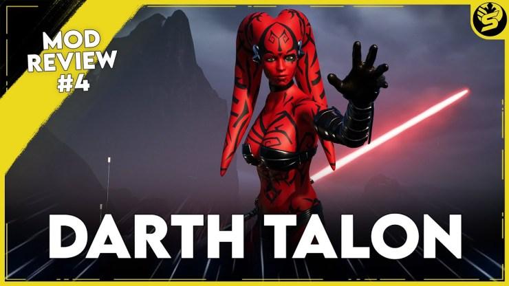 DARTH TALON in Jedi: Fallen Order - Mod Review E04