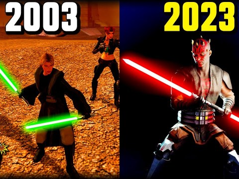 History of OPEN WORLD Star Wars Games 2003 - 2023
