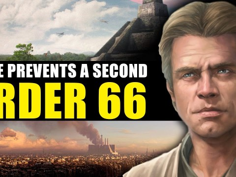 How Luke tried to prevent a Second Order 66 (SW Legends)
